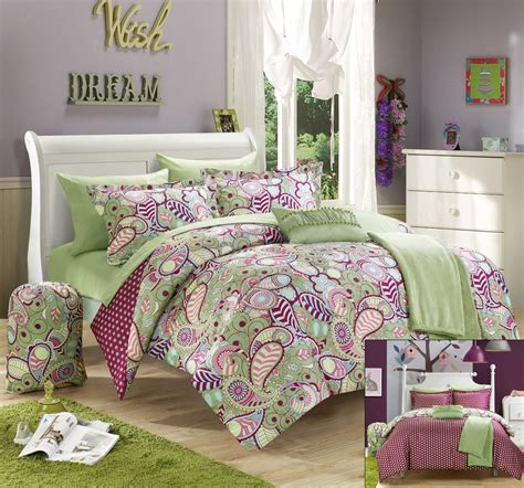 purple and green comforter set total fab green and purple bedding sets