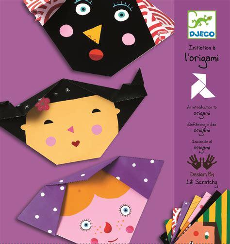 djeco origami origami visages djeco avenue des jeux