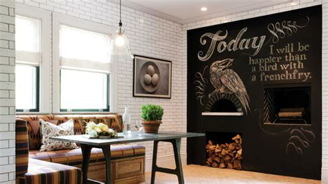 chalkboard for room chalkboard accents in 15 dining room spaces home design