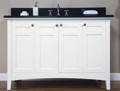 bathroom vanities shaker style 48 inch single sink shaker style bathroom vanity with
