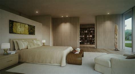 modern master bedroom single story modern cottage in israel