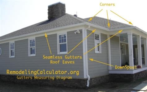 how to put gutters on a house gutter installation cost calculate seamless gutters price