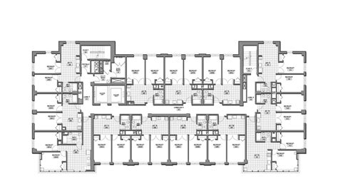 a floor plan plans 187 student residence 187 bumc