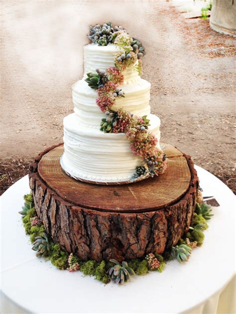 cake tree decorations succulents and roses diy wedding bouquet design