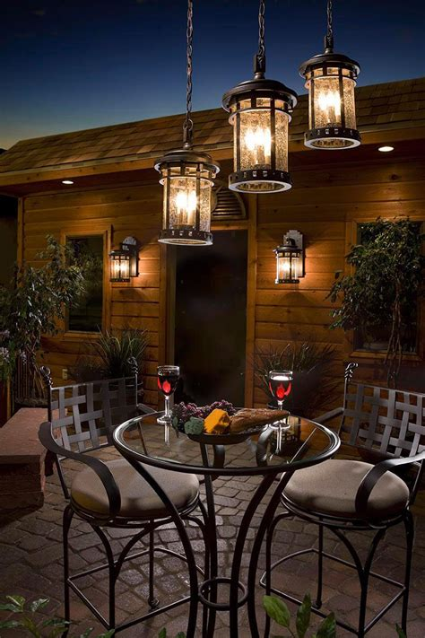 patio table lighting patio lighting ideas for your summery outdoor space