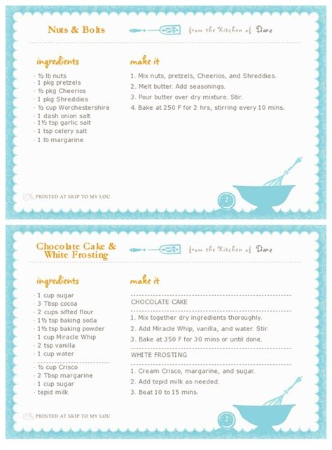 how to make recipe cards on word printable recipe card maker