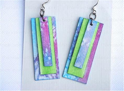 How To Make Paper Jewelry Earrings Nbeads