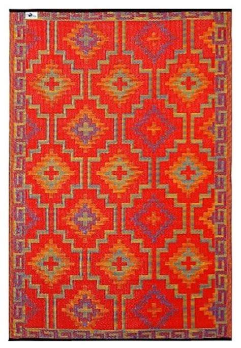fab habitat outdoor rug fab habitat 5ft x 8ft lhasa outdoor rug orange violet