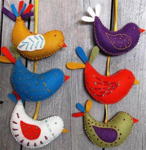 felt craft 25 best ideas about felt birds on felt crafts