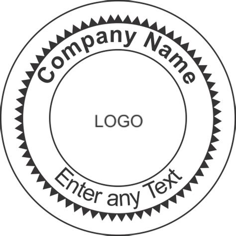 outline rubber sts company seal st template 28 images custom rubber sts