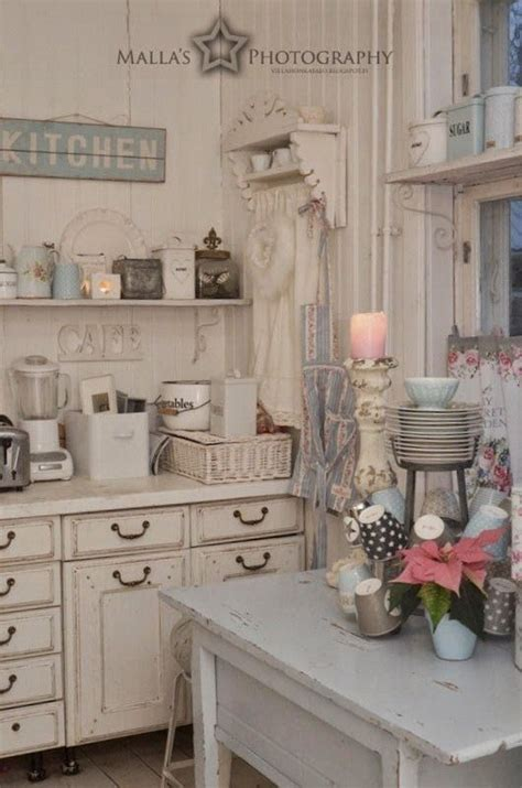 shabby chic kitchen decor 35 awesome shabby chic kitchen designs accessories and
