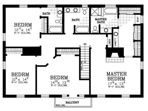 4 bedroom house floor plans 4 bedroom house floor plans free home deco plans