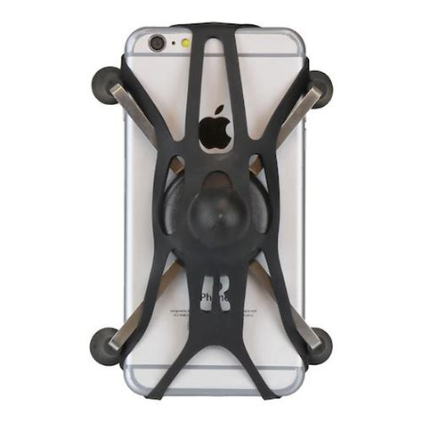 rubber st mount ram mounts universal x grip cell phone holder tether