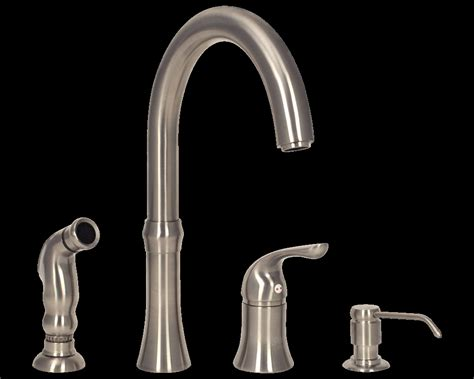 4 kitchen sink faucet 4 kitchen faucet with soap dispenser