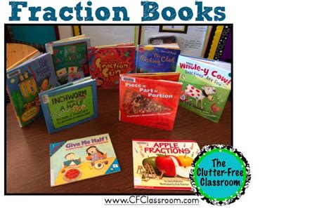 fraction picture books fraction books math ideas