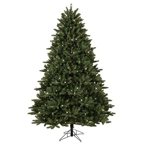 ge artificial tree ge 7 5 ft pre lit led just cut frasier fir artificial
