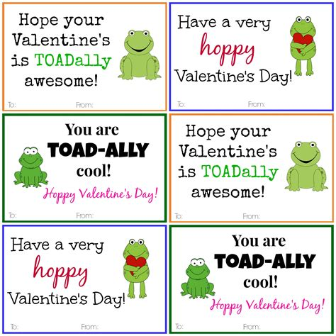 valentines day cards to make and print frog cards diy printable cards