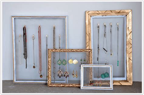 how to make jewelry holder picture frame transformed a picture frame camille styles