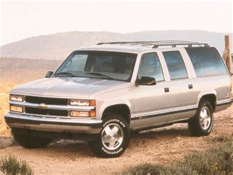 blue book value used cars 1999 gmc suburban 1500 head up display 1998 chevrolet suburban 2500 pricing ratings reviews kelley blue book