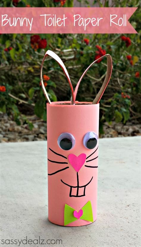 easter toilet paper roll crafts bunny rabbit toilet paper roll craft for crafty morning