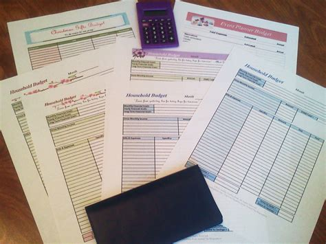 for free to print free printable budget worksheets or print