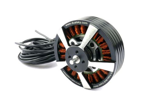 Large Electric Motor by Dualsky Xm7015mr 4 5 370kv Outrunner Brushless Disk Type