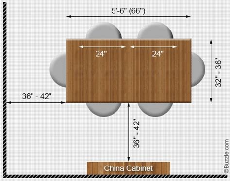 table size for 6 standard dining room table size marceladick