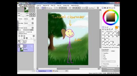 paint tool sai zauberstab paint tool sai putting backgrounds in tutorial eng