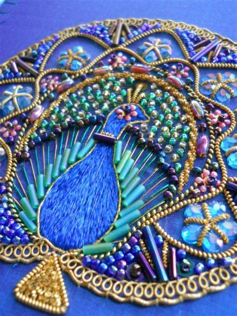beading and sequins 170 best peacock fabrics embroidery linens images on