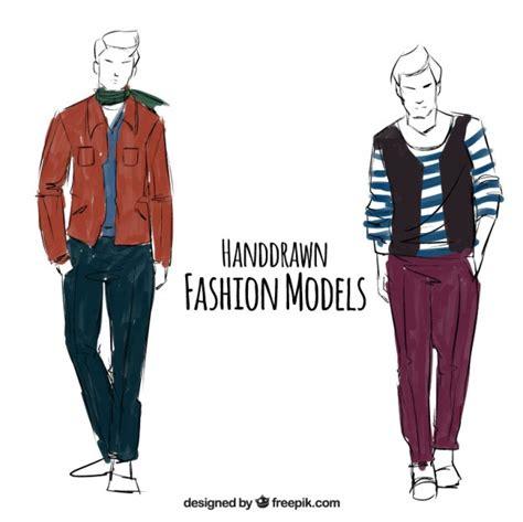 mens wear illustration menswear vector free