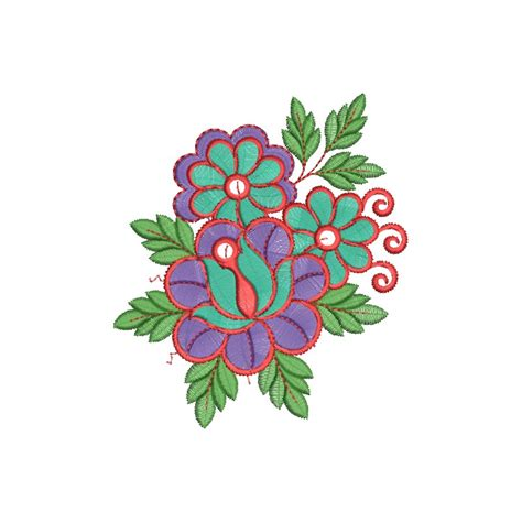 flower designs colorful flower design