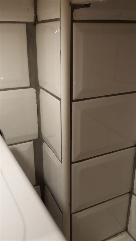 how to grout tile problem with metro tile with grey grout in kitchen