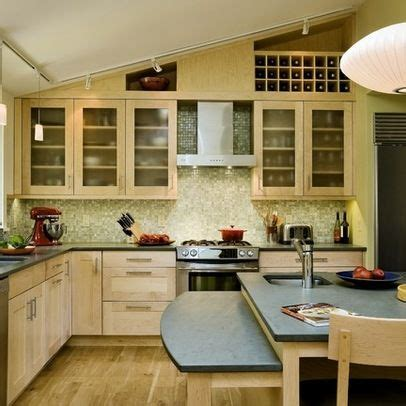 vaulted ceiling kitchen ideas 29 best kitchen sloped ceiling solutions images on