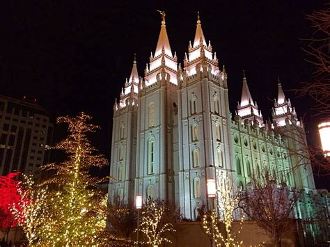 lights at temple square tour temple square lights from home st george news