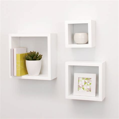 contemporary wall shelves top 15 floating wooden square wall shelves to buy