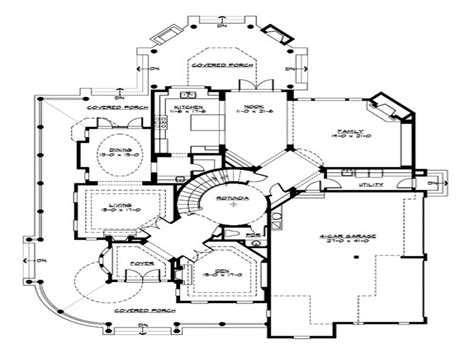 small luxury home floor plans small luxury house plans