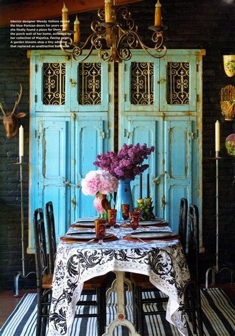 antique decor gypsies rustic chic turquoise decorating