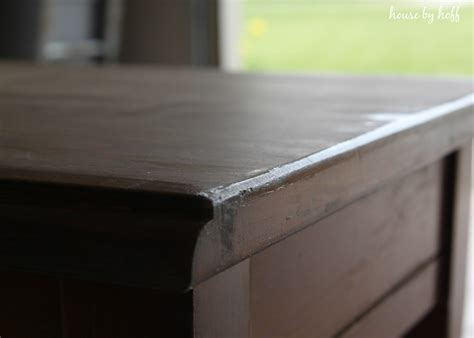 chalk paint using vaseline how to achieve the weathered look house by hoff