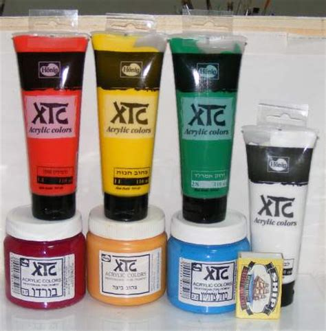acrylic paint best brand xtc acrylic brands of hobby craft colors on