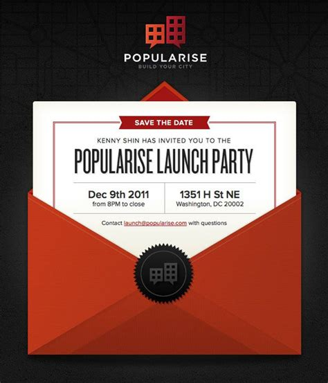 how to make e invitation card 33 simple but effective email newsletter designs