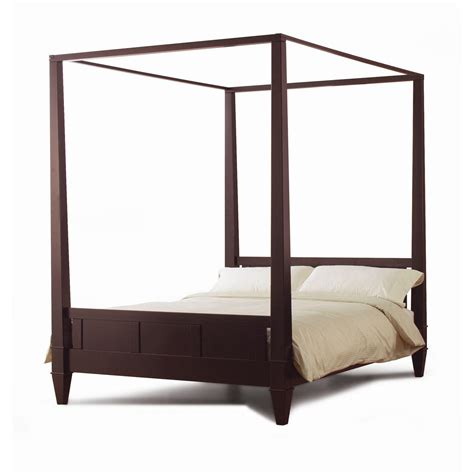 modern canopy bed frame size modern canopy bed frame in from hearts attic bed