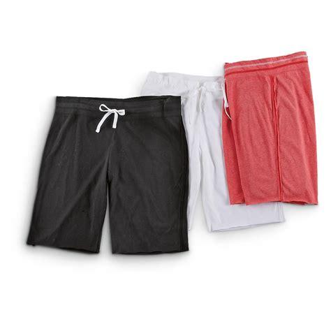 3 Pk Of S Reebok 174 Knit Shorts 235732 Shorts At