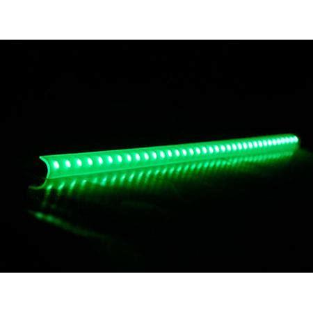 green led light bars logisys 16 quot green led corner light bar lcx16gn
