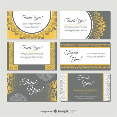 free downloads for card damask style business card templates vector free