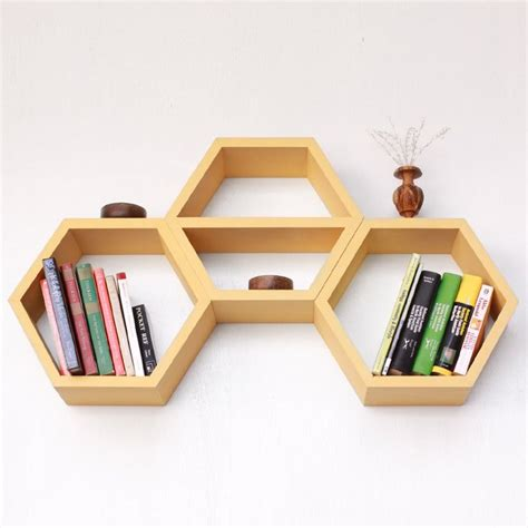 hexagon bookshelves 19 best images about hexagon mirror clusters on