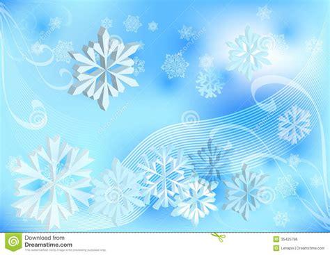 light blue winter background stock vector image 35425796