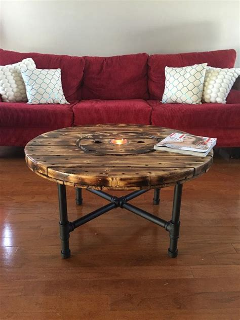 cable coffee table 25 unique wooden spool tables ideas on diy