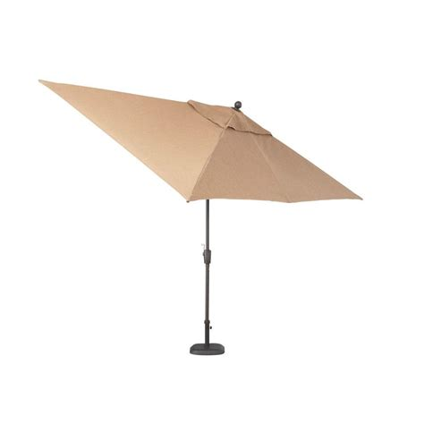 rectangular patio umbrella hton bay pine valley 10 ft rectangular patio umbrella