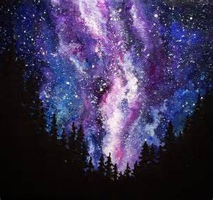 acrylic painting a galaxy le 17 migliori idee su dipingere galassie su