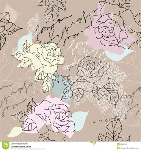 free decoupage downloads background seamless decoupage stock vector image 21692325